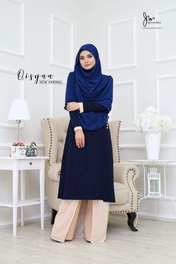 QISYAA ( Dark Blue )