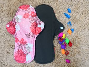 Cloth Pad - Floral ( Caring) Size L