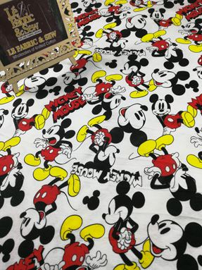 MICKEY MOUSE WHITE 0232
