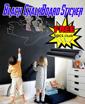 Black ChalkBoard Sticker