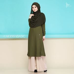 CALYSSA BASIC CASUALITY (OLIVE GREEN)