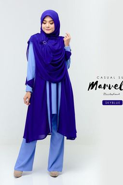 MARVELLA SUIT (SKYBLUE)