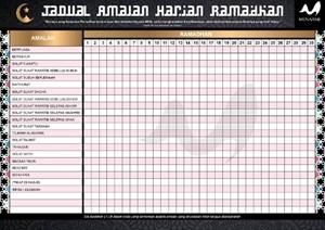 A3 RAMADHAN CHART