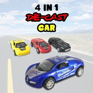 4 IN 1 DIE-CAST CAR ETA 22 MARCH 19