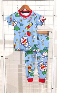 BABY 6M Pyjamas DORAEMON AND NOBITA LIGHT BLUE (MF)
