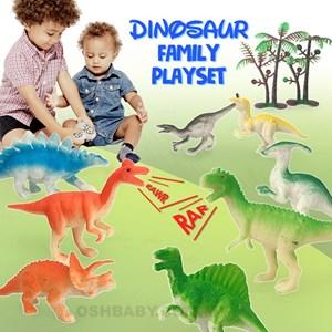 DINOSAUR FAMILY PLAYSET
