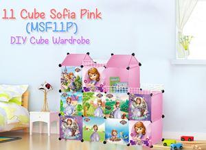 MINI Sofia Pink 11C DIY Cube (MSF11P)