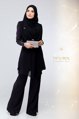 DY'LORIA LUXURIOUS SUIT (BLACK)
