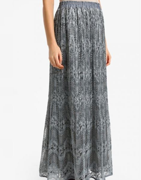 IRMA LACE SKIRTS IN GREY