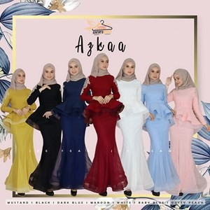 AZKAA EXCLUSIVE PEPLUM