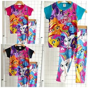 Pyjamas MY LITTLE PONY FRIENDS ADVENTURE (Brand HRZ) : Kids Size 2/3