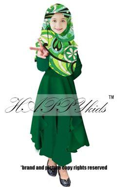 Palazo Set & Pucci For Kids - Green