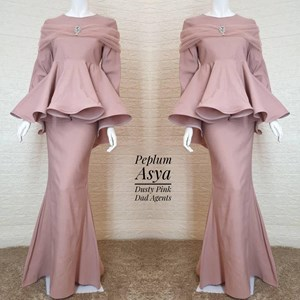 Peplum Asya Dusty Pink