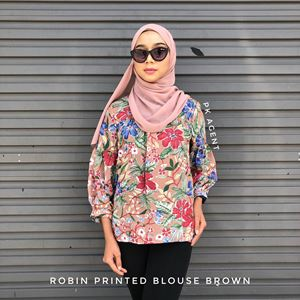 ROBIN PRINTED BLOUSE