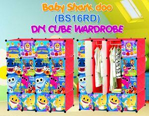 Baby Shark Doo RED 16C DIY WARDROBE (BS16RD)