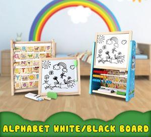 ALPHABET WHITE/BLACK BOARD