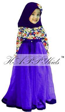 Flower Dress Purple