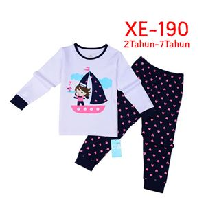 CALUBY XE-190 Kids Pyjama (2-7 tahun)