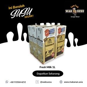 Fresh Milk 1L X 12 PKTS