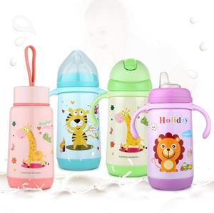 4 in 1 stainless steel feeding bottle