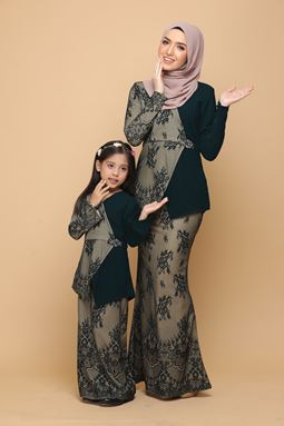 DEWI EMERALD GREEN / BRONZE (KIDS)