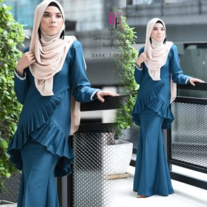 LORNA PLEATED KURUNG