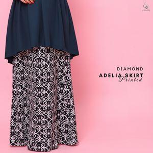 Adelia Skirt Printed : Diamond
