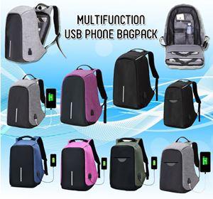 MULTIFUNCTION USB PHONE BAGPACK