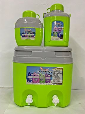 TWIN JUG COMBO 10L - APPLE GREEN