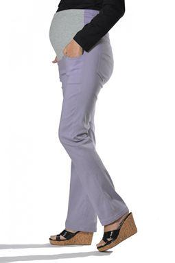 Maternity Straight Pant Mi - Grey
