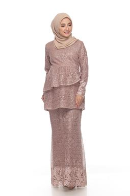 Sri Mellur Kurung Exclusive - Brown