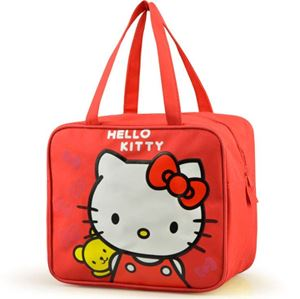 LUNCHBOX  BAG ( KITTY RED )
