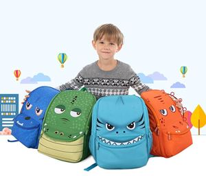 2019 New Children's School Bag Boy Cute Kindergarden Backpack