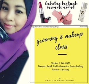 GROOMING & MAKE UP CLASS