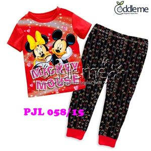 @  PJL058/15  MICKEY COUPLE RED  #