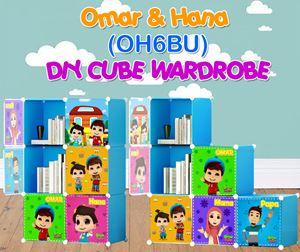 Omar & Hana BLUE 6C DIY WARDROBE (OH6BU)
