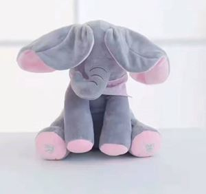Peekaboo Elephant toy