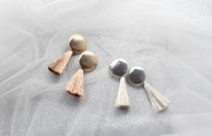 HOLIDAY TASSEL EARRINGS