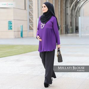 Mellati Blouse Purple