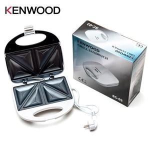 KENWOOD Electric Sandwich Maker 2 Slice Breakfast Non-Stick Plate 750W