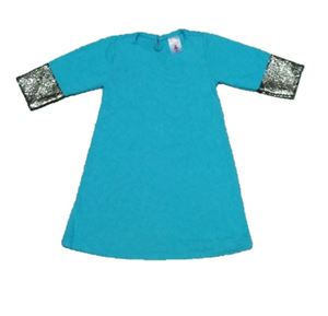 Dress Jubah Baby - Turquoise S0041