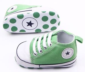 Green Prewalker Shoes