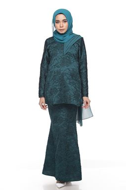Sri Ledanng Kurung Exclusive - Green