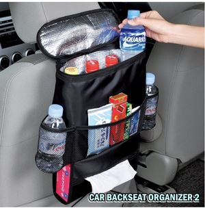 CAR BACKSEAT ORGANIZER 2 N00936
