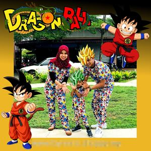 Pyjamas Viral Dragonball Dewasa + KIDS