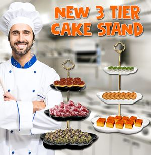New 3 Tier Cake Stand