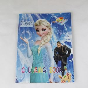 @  COLOURING BOOK-FROZEN