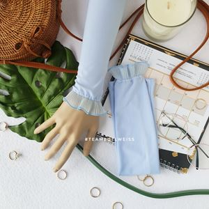 Handsock Maira- SOFT BLUE
