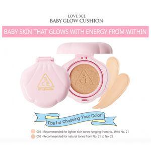 LOVE 3CE Baby Glow Cushion 12g