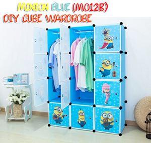 MINION BLUE 12C DIY WARDROBE (MO12B)